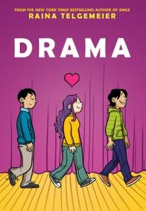 Cover image of DRAMA by Raina Telgemeier