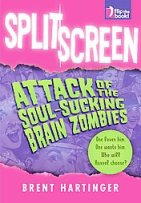 Cover for SPLIT SCREEN by Brent Hartinger
