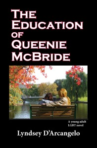 Cover for THE EDUCATION OF QUEENIE MCBRIDE by Lyndsey D'Arcangelo