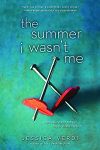 Cover of The Summer I Wasn't Me by Jessica Verdi